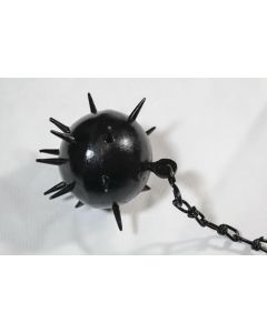 Large Metal Ball and Chain