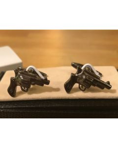 Cufflink Pair in Box Colt Revolver