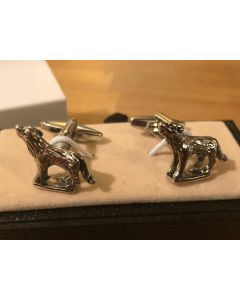 Cufflink Pair in Box Wolves