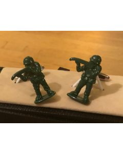 Cufflink Pair in Box Soldiers