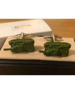 Cufflink Pair in Box Tanks