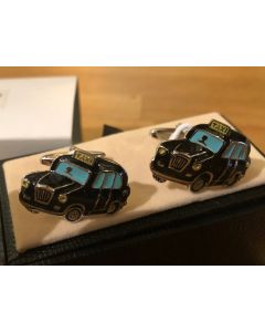 Cufflink Pair in Box Taxi