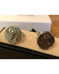 Cufflink Pair in Box Time