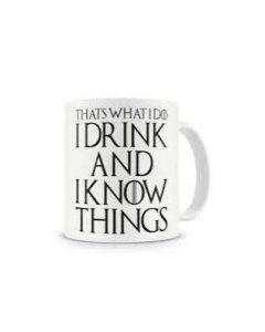 12 x 'I Drink And I Know Things' Mug