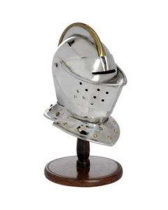Mini Armet Helmet With Stand