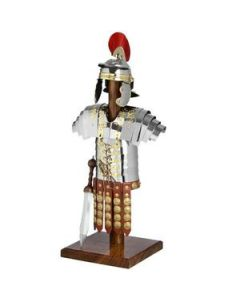 Mini Suit Of Armour On Wooden Stand